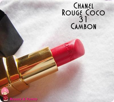 CHANEL ROUGE COCO 31 (CAMBON)