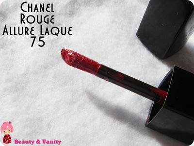 CHANEL ROUGE ALLURE LAQUE 75 (DRAGON)