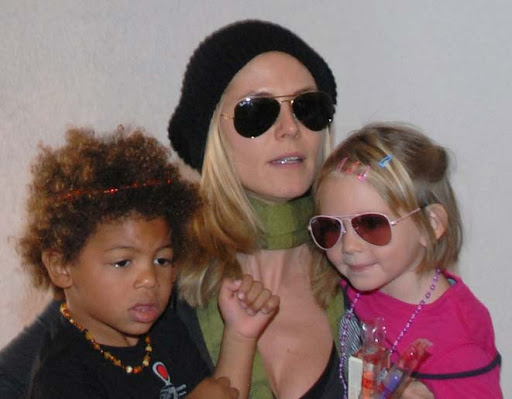 heidi klum children photos. How many children does heidi