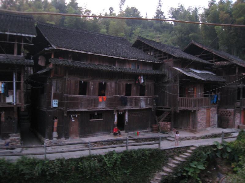 的侗家木头房子