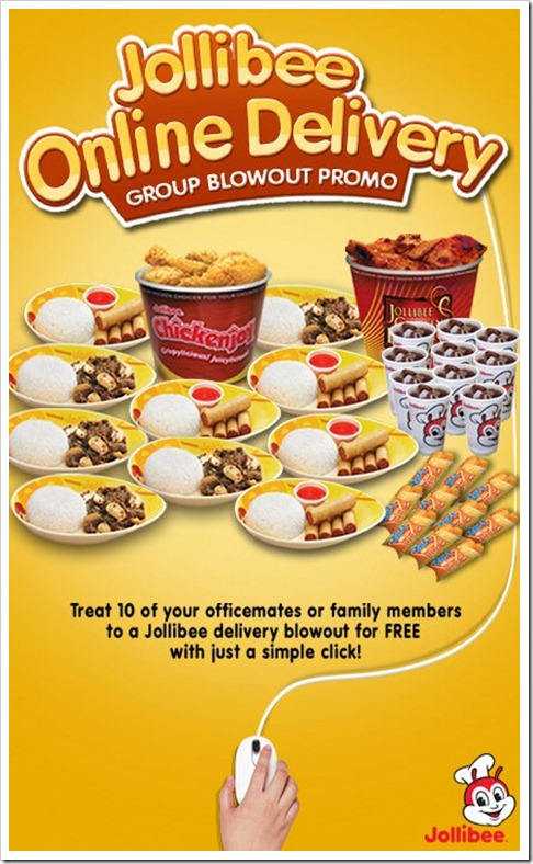 *Image courtesy of I want Jollibee On-Line Delivery Facebook page
