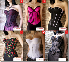 CORSETS MADAME SHER