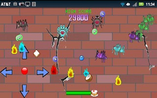 Screenshot of Arcade Spider Attack