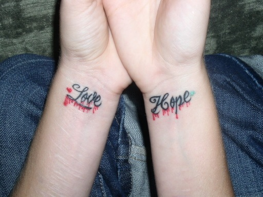 renee's tattoosarms You can still see the scars but they have healed over