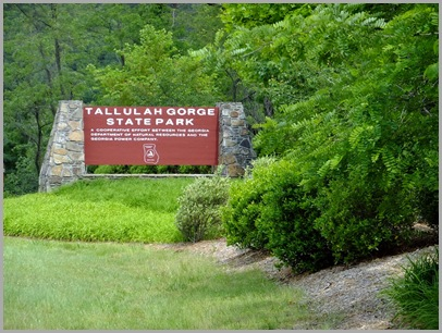 Welcome To Tallulah Gorge State Park