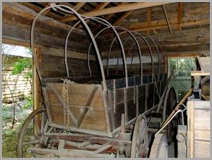 Zuraw Wagon Traveled the Trail of Tears