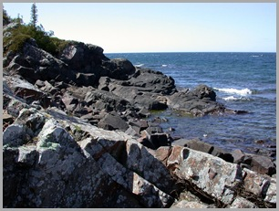 Along The Western Shoreline Of The Keweenaw Peninsula