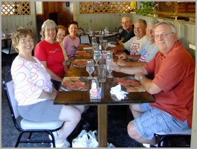 Peggy, Judy, Sylvia, Dortha, Mark, Glen, Darrell, Mike