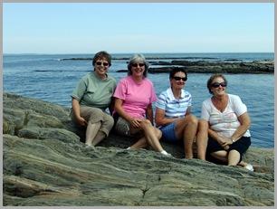 Peggy, Judy, Dortha, Sylvia