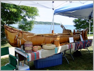 An Old Birch Bark Canoe