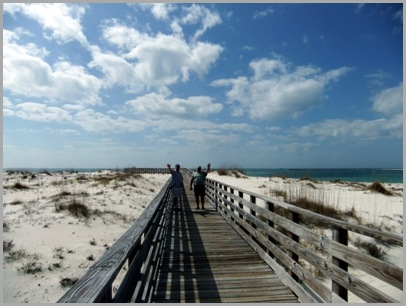 Boardwalk On Perdido Beach