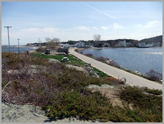 Looking Back At Popham, Maine