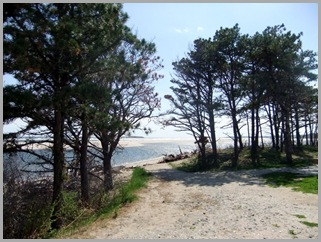 Entering Popham Beach