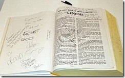 Untitled 2009 defaced bible