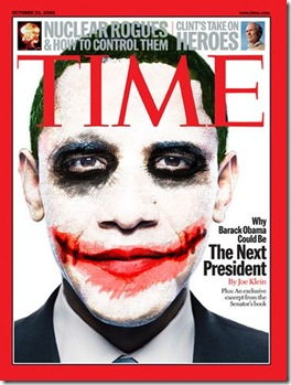 Obama Joker Poster original