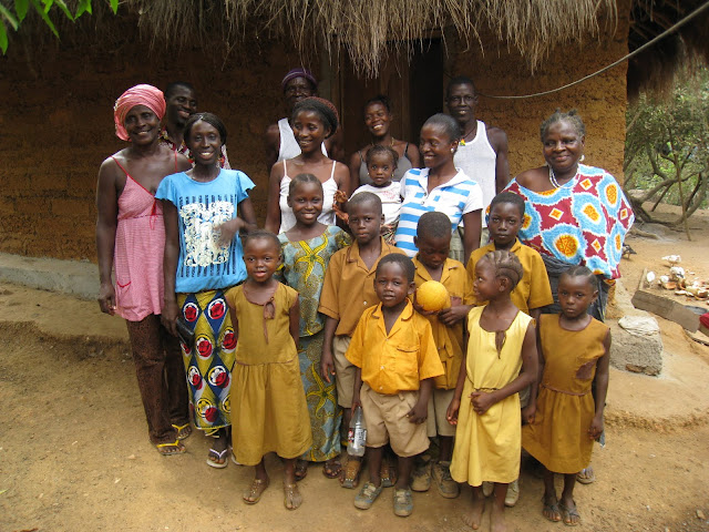 The church family at Bureh Town