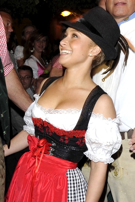 Celebrity Daily Photo: Oktoberfest: Hayden Panettiere at ...