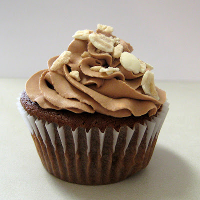 Chocolate Malted Cupcakes with Chocolate Malted Milk Whipped Cream ...