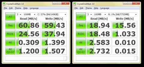 CrystalMark HDD SDHC C10