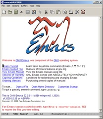 Emacs 23.0.91
