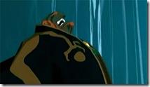 Mesmo em cel-shading, Ganondorf não é nada simpático