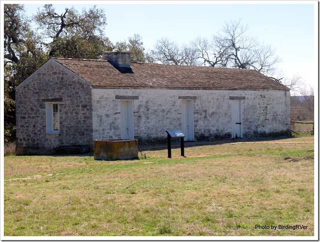 This orginal Fort Martin Scott building was built in 1848 and is the only one still standing