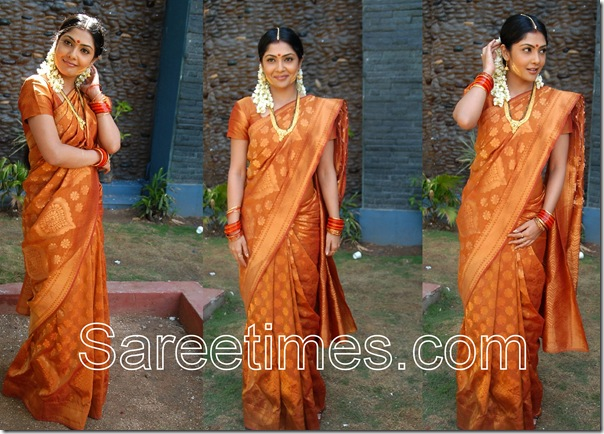 Kamalini_Mukherjee_Silk_Saree