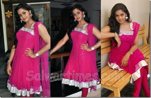 Karthika_Pink_Salwar_Kameez