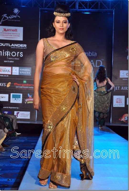 Gold_Shimmer_Saree