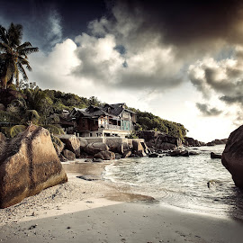 Mahe Beach, Seycheles by Miodrag Stojanovic - Landscapes Beaches