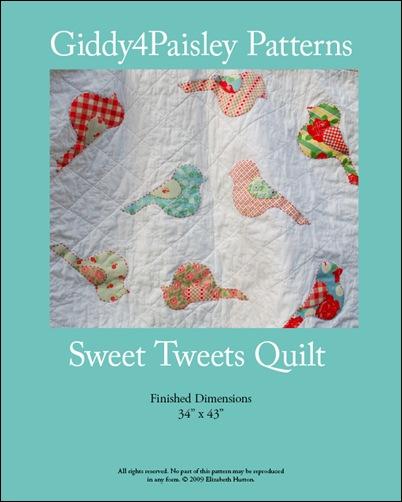 Cover Sweet Tweet Pattern