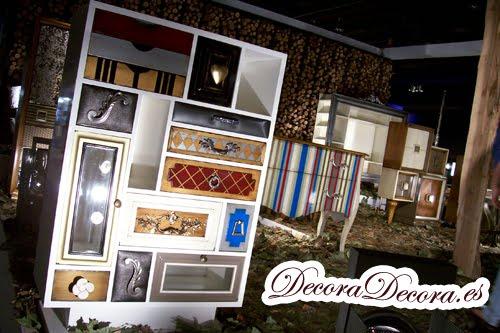 muebles decorativos de retales