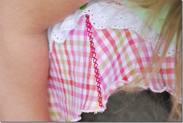 Apricot picnic skirt 064