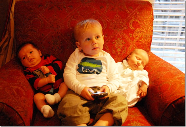 cousins on couch