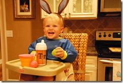 T in bunny ears
