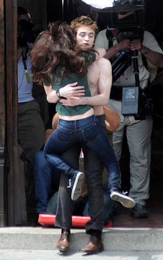 kristen stewart y robert pattinson. kristen stewart and robert