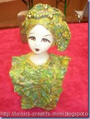 buste marijke kok créa d'Evy