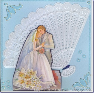carte 3D mariage