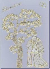 carte mariage stikers & papier parchemin