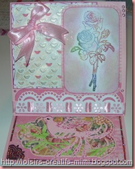 carte tampon acrylique Roses Marianne Design