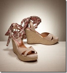 paisley wedge sandals