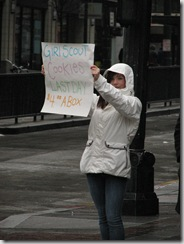 St.Pats Day and Gaza protest 003