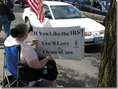 Protest Obama Care 255