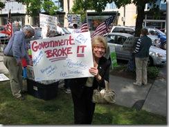Protest Obama Care 113
