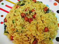 Lemon Rice or Nimbu Rice or Chitranna
