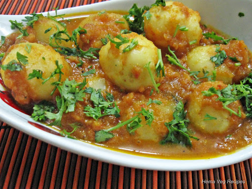Baby Potato Curry