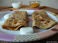 Mooli Paratha/Parota