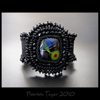 Fly me to the moon - ooak cuff 01 copy