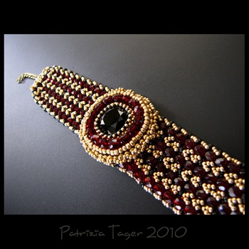 red poppy bracelet 01 copy