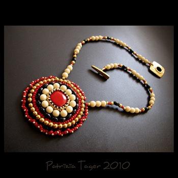 Retro Flower - Necklace 02 copy
